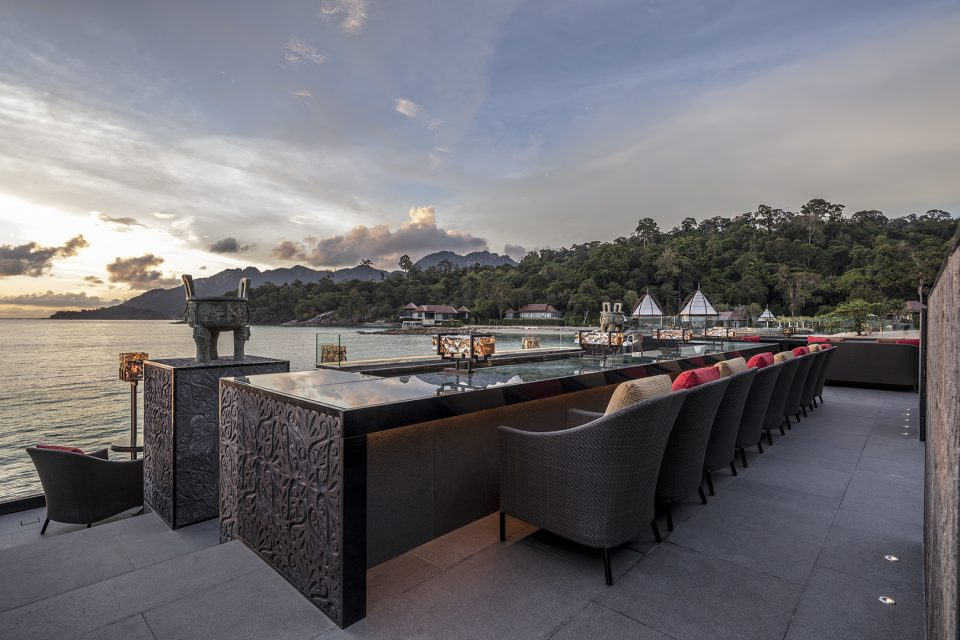 "The Ritz-Carlton Langkawi  ""Horizon Bar"""
